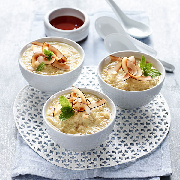 Brown Rice Coconut Pudding