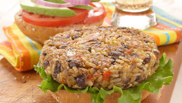 Brown Rice Cuban Burgers