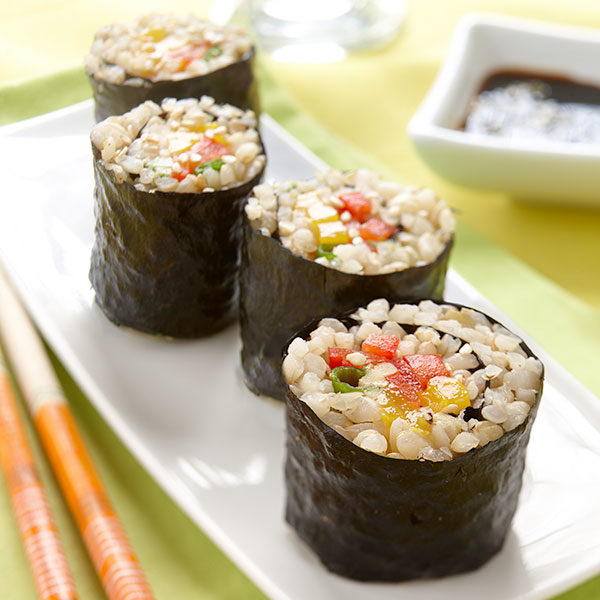 Brown Rice Maki Rolls