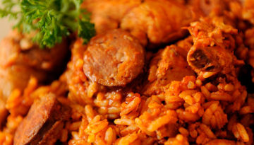 Chicken and Sausage Jambalaya
