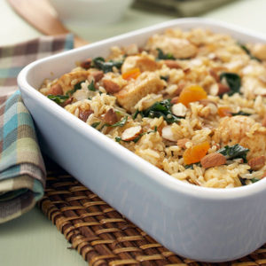 Curry Chicken and Rice Casserole