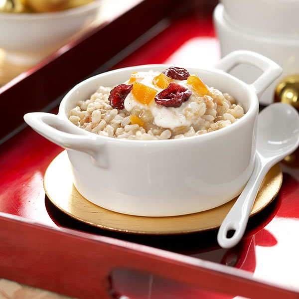 Festive Slow Cooker Rice Muesli