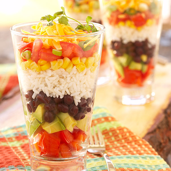 Fiesta Layered Salad