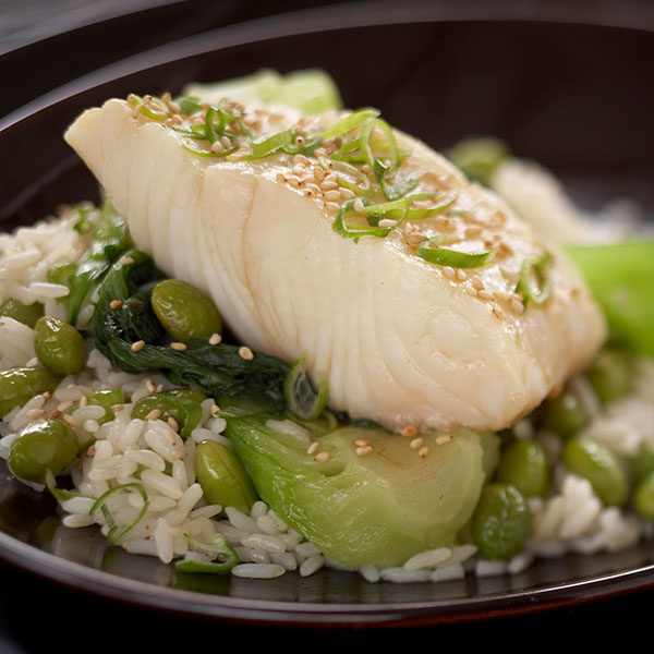 Asian-Style Halibut Dinner Packets