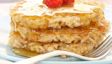 Maple Walnut Rice Cakes