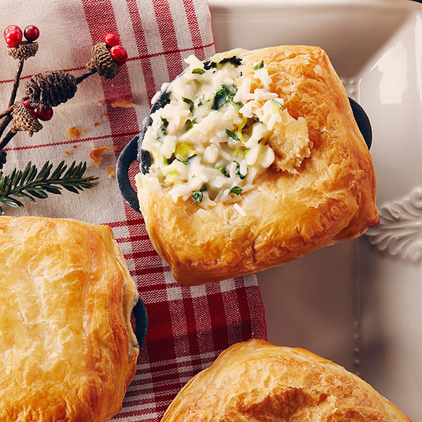 Mini Rice and Fish Pies