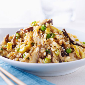 Sesame Shiitake Fried Rice