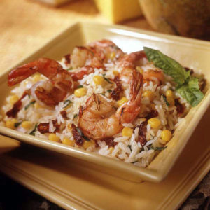 Shrimp Rice Bowl
