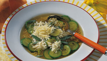 Zucchini and Rice Soup