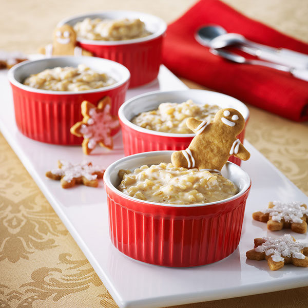 Gingerbread-Spiced Rice Pudding