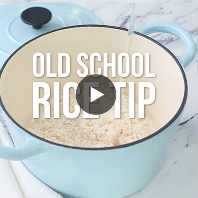 Old School Rice Tip