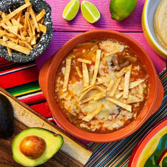 Tortilla Rice Soup