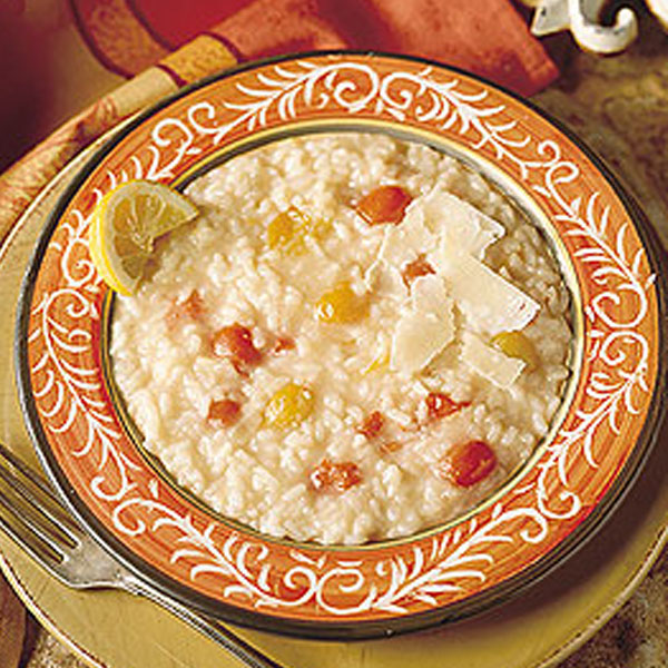Tomato and Lemon Risotto