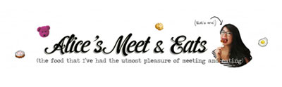 Alice's Meet & Eats logo
