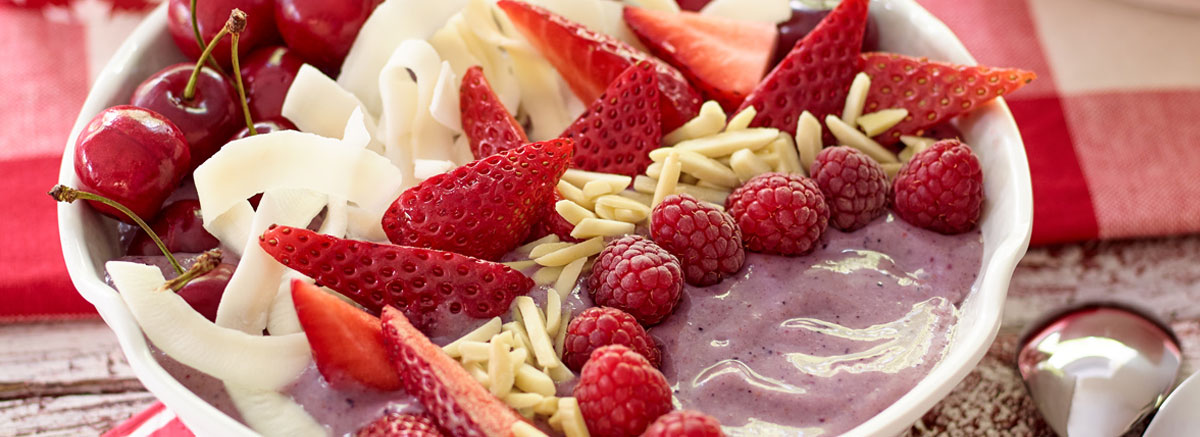 Riceberry Smoothie Bowl