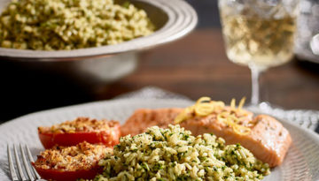 Cilantro Green Rice