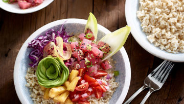Hawaiian Tuna Poke Bowl
