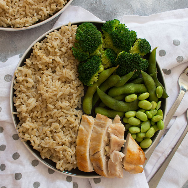 Green Tea Power Protein Rice Bowl