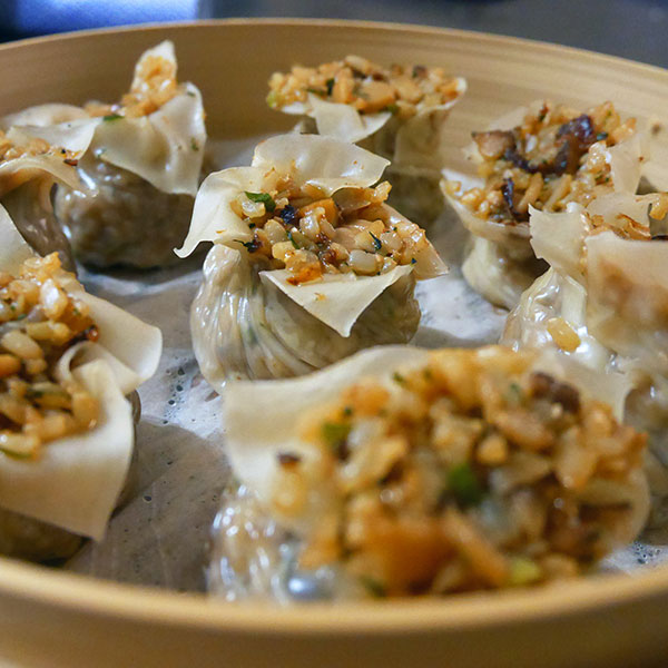 Shanghai-Style Shao Mai with Brown Rice