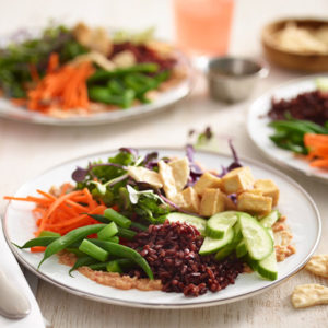 Black Rice Gado Gado Salad