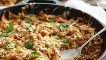 French Onion Rice Bake