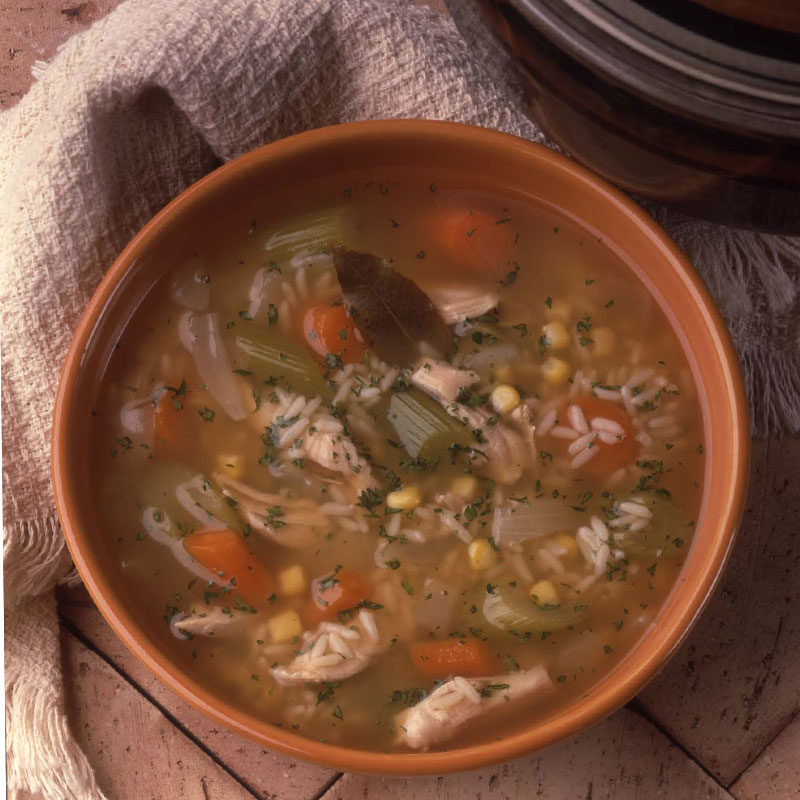 Best Ever Turkey and Rice Soup