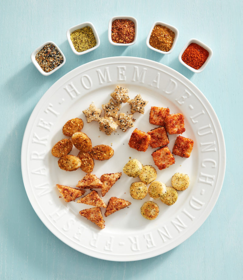 Rice Croutons