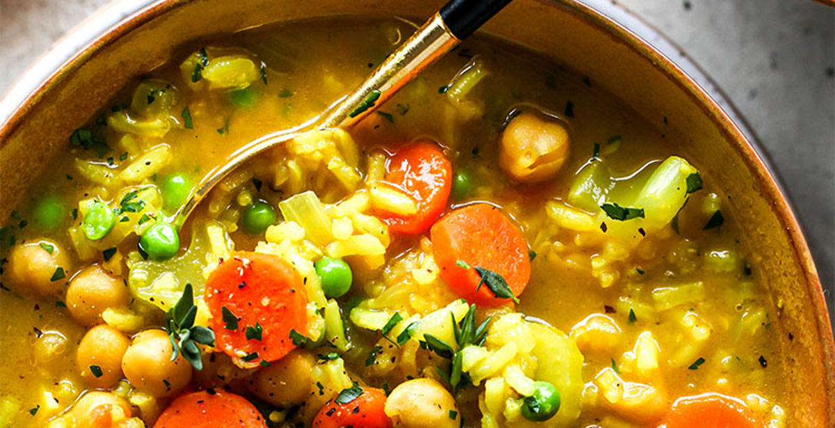 Chickpea and Rice Soup